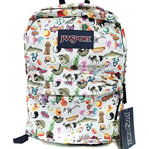 Jansport Classic SUPERBREAK BACKPACK - Multi Stickers