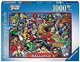Ravensburger Puzzle, Puzzle 1000 Piezas, DC Comics Challenge, Puzzle Challenge, Puzzle Adultos, Rompecabezas Ravensburger de Calidad, Jigsaw Puzzle