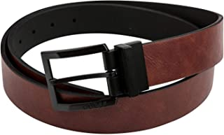 Guess Mens Reversible Belt Brown and Black 35mm Width 11GU02XZ05-093- Large (38-40) Inches