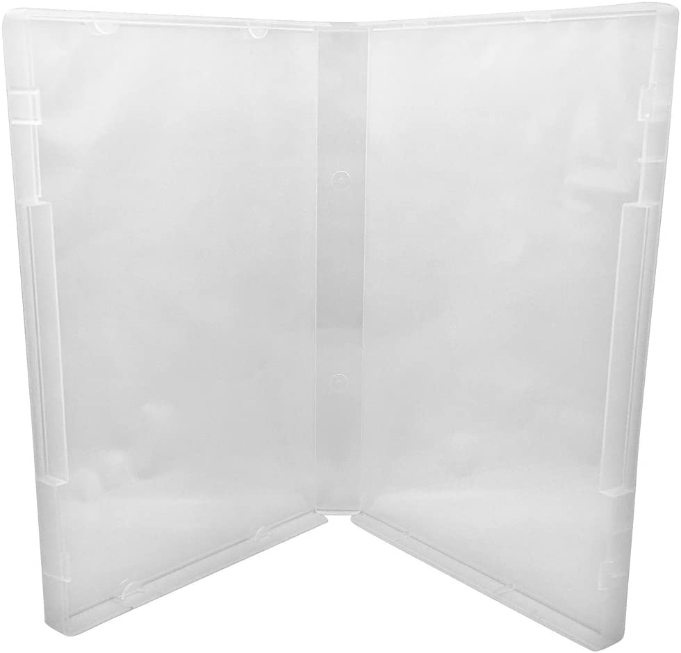 Clear//Spine: 21 mm 5 CheckOutStore Plastic Storage Cases for Rubber Stamps
