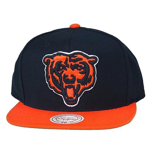NFL Mitchell   Ness Chicago Bears Throwback XL Logo 2T Snapback Hat - Navy  Blue  05fd64470157