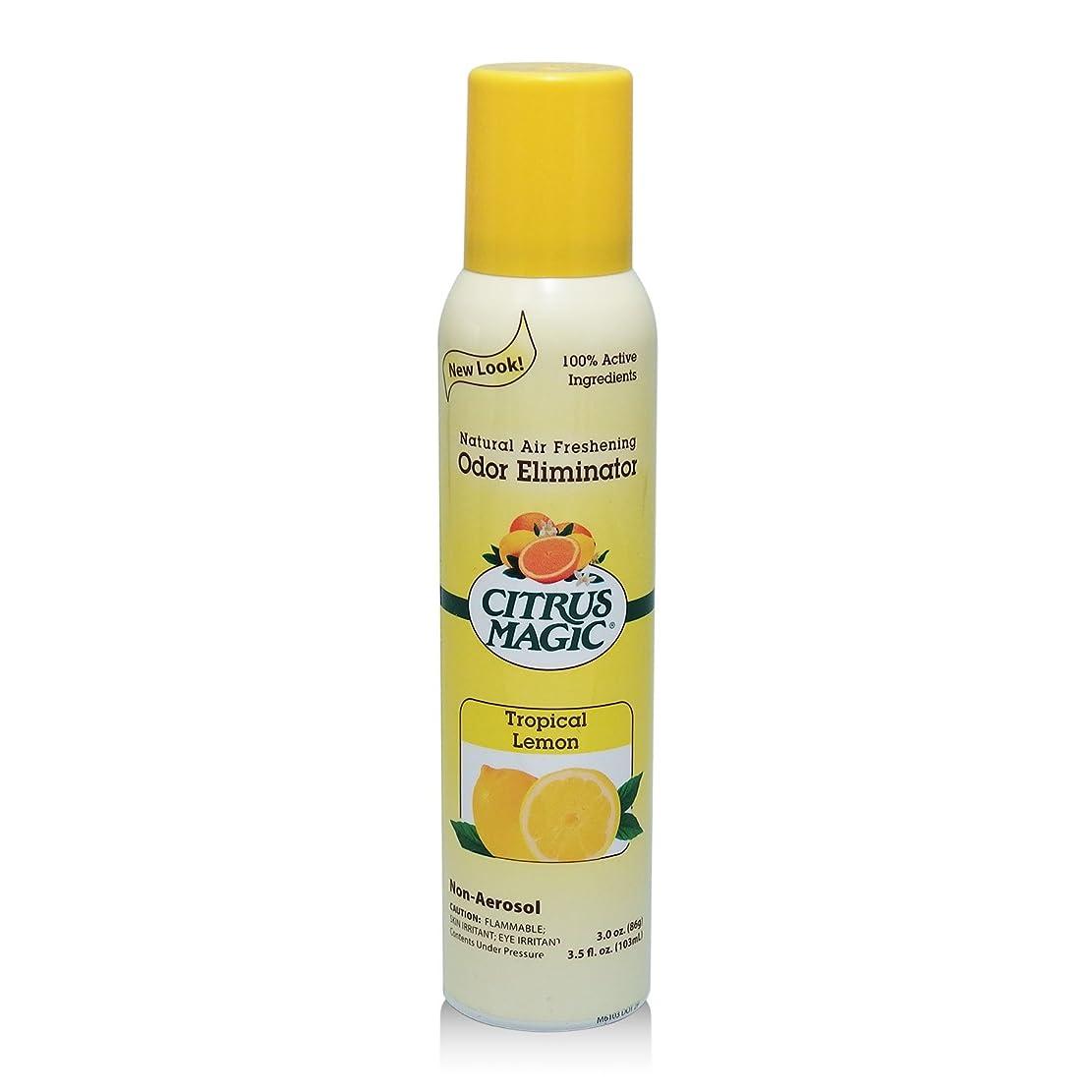 差し迫ったスピン完了シトラスマジック エア フレッシュナー レモン 103ml 果皮抽出オイルをギュッと詰めた消臭?芳香ルームスプレー