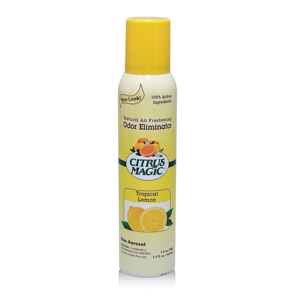 しばしば教義凍るシトラスマジック エア フレッシュナー レモン 103ml 果皮抽出オイルをギュッと詰めた消臭?芳香ルームスプレー
