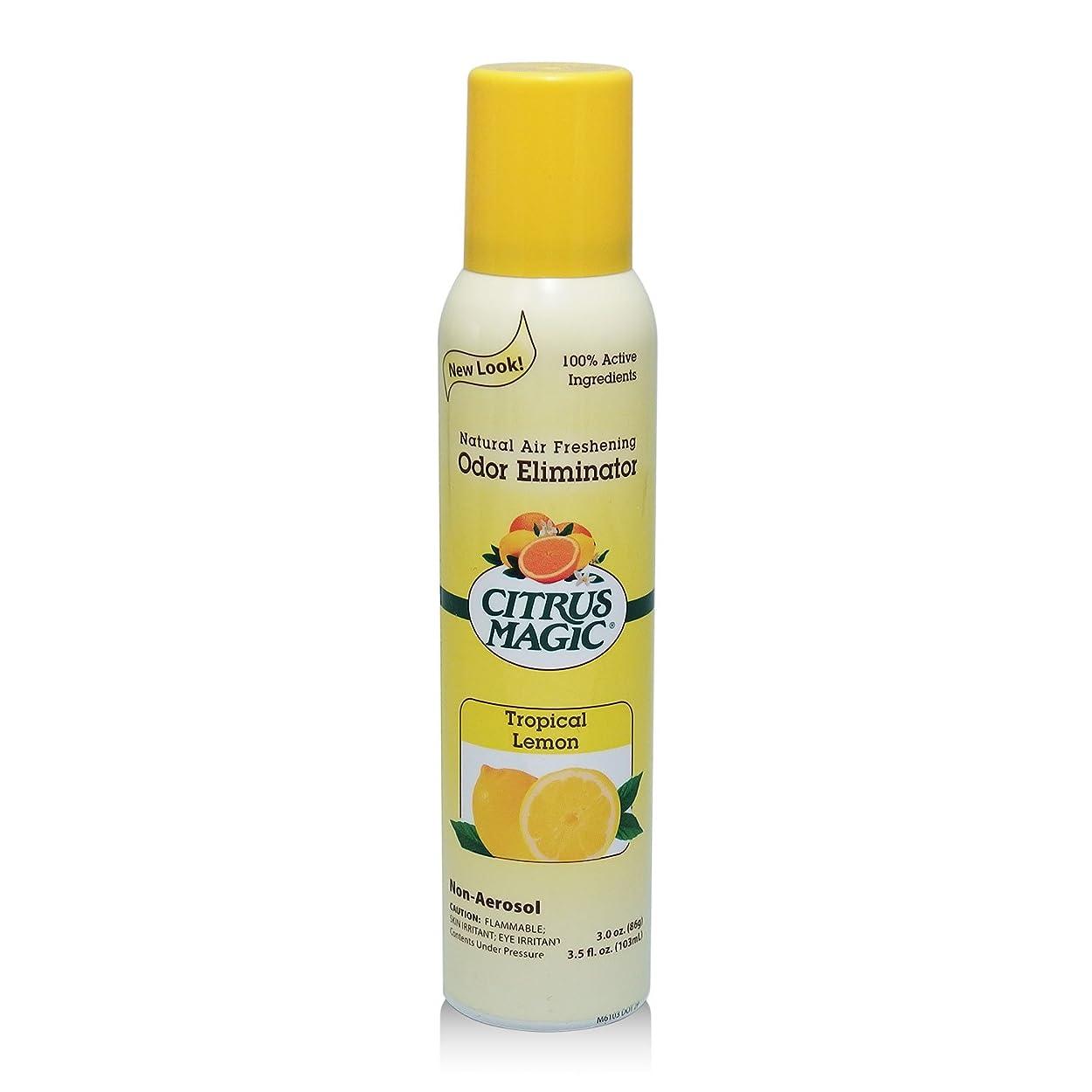 パースブラックボロウ賃金買い物に行くシトラスマジック エア フレッシュナー レモン 103ml 果皮抽出オイルをギュッと詰めた消臭?芳香ルームスプレー