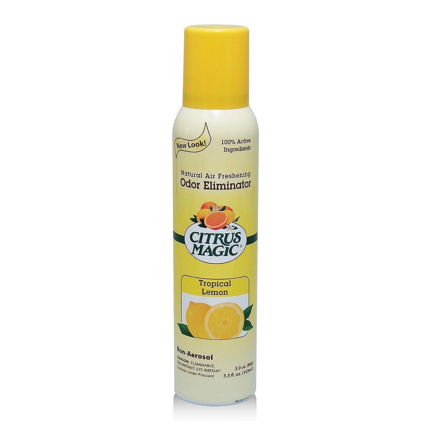 インキュバス種をまくリングレットシトラスマジック エア フレッシュナー レモン 103ml 果皮抽出オイルをギュッと詰めた消臭?芳香ルームスプレー
