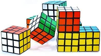 20 PCS Mini Color Cube Puzzle Game Toy for Party Favors 3 x 3 cm