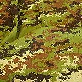 TOLKO Camouflage Stoff im Ripstop Digital Flecktarn der