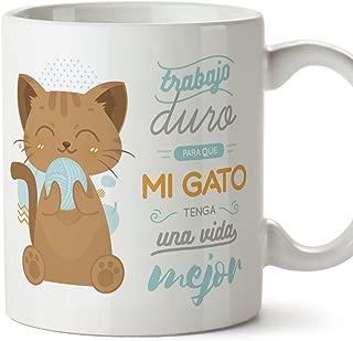 MUGFFINS Tazas Desayuno Originales graciosas para Amantes de