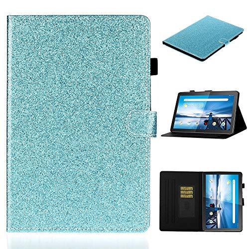 Funda para teléfono móvil For Lenovo Yoga Tab3 Plus 10 TB-X703F / Pro 10 TB-X90F Frosted Litchi Texture PU Horizontal Flip Funda de Cuero con Soporte y tragamonedas de Tarjetas y Corre