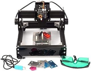 zmart 15W 強力レーザー加工機 USB 小型 15000mW 金属刻印 小型 卓上 旋盤 レーザープリンター 印刷 彫刻機 DIY オリジナル日本語説明書つき