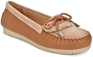 Five Tribe Women's Memorable Leather/Suede Moccasin Loafer