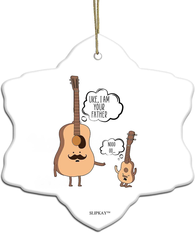 Uke Latest item I Am Your Father Superior Ukulele Music Snow Orname Flake Love Guitar