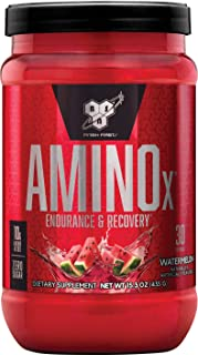 BSN Amino X Muscle Recovery & Endurance Powder with BCAAs, 10 Grams of Amino Acids,..