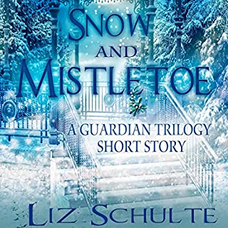 Snow and Mistletoe audiobook cover art