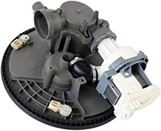 Whirlpool W10605059 Dishwasher Sump and Motor Assembly Genuine Original Equipment Manufacturer (OEM) Part