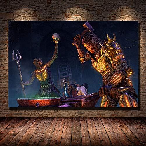 Puzzle 1000 piezas Popular juego en línea The Elder Scrolls Picture Pintura decorativa puzzle 1000 piezas animales Juego de habilidad para toda la familia, colorido juego de u50x75cm(20x30inch)
