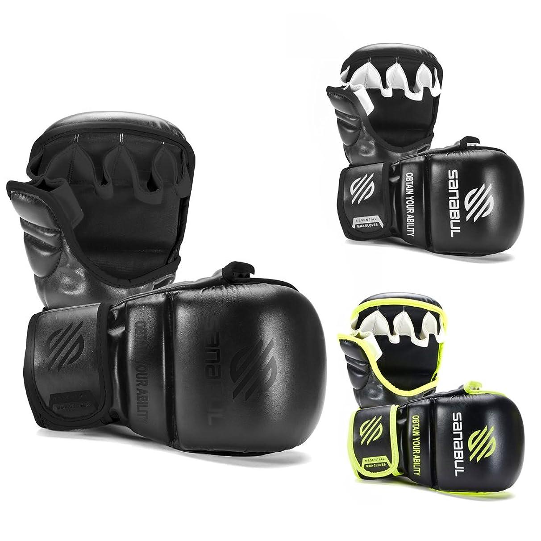 Sanabul Essential 7 oz MMA Hybrid Sparring Gloves