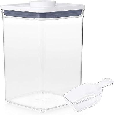 【セット買い】OXO 保存容器 ポップコンテナ ビックスクエア ミディアム 4.2L + ポップ スクープ