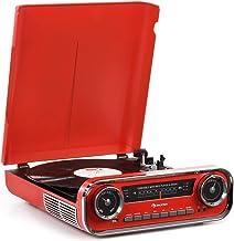 auna Challenger LP Tocadiscos con Altavoces estéreo -