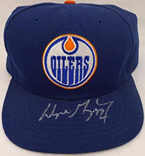 Wayne Gretzky Autographed Edmonton Oilers Hat  BAE74754 - Upper Deck  Certified - Autographed NHL Hats c0ea595bf