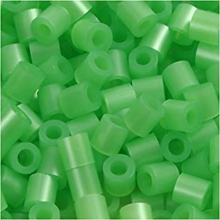 PhotoPearls, size 5x5 mm, hole size 2,5 mm, green mother-of-pearl (22), 6000pcs