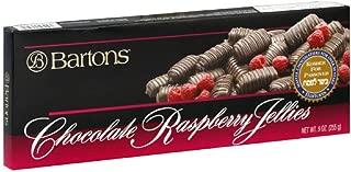 Barton's Chocolate Raspberry Jellies, Kosher Parve For Passover, 9 Ounce Box