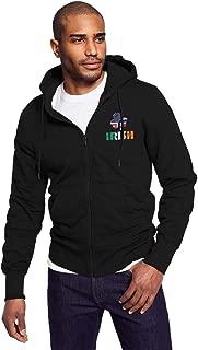 HIPSTER STYLE Hoodie Lightweight Full Zip Hoodies for Men, Fleece Sweatshirt Pullover Graphic Jacket