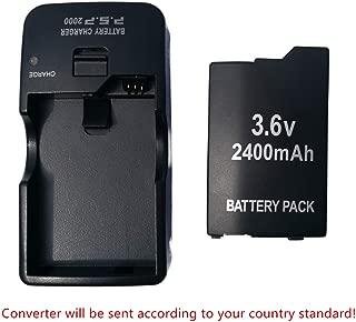 FidgetKute PSP-S110 Battery+Charger for Sony PSP Slim PSP-2000 PSP-2001 PSP-3000 PSP-3001
