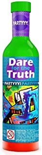 The Purple Cow Dare for Truth Spin The Bottle Game, Partyyy Edition. Card Games for Kids & Adults Ages 6 & Up. Birthday Party Games Cards Fun for Kids & Adults Alike
