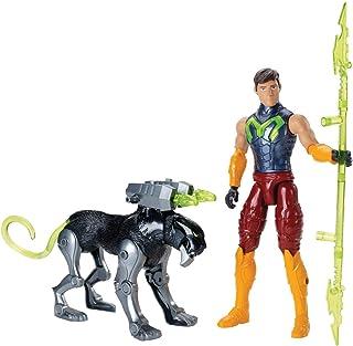 Max Steel Figura de Acción y Pantera Biónica