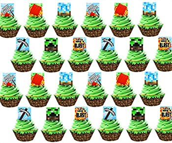 Best minecraft cupcake toppers Reviews
