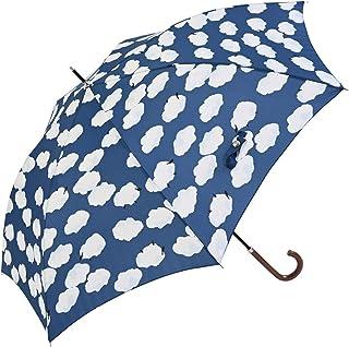 Nifty Colors(ニフティカラーズ) 長傘 ひつじ雲スマートジャンプ ブルー 60cm 1433BL