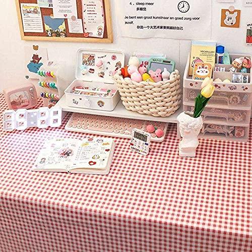 sans_marque Paño de mesa, anti-derrame y anti-pliegue cubierta de tabla suave, utilizado para la decoración de mesa de la cocina 100* 150CM