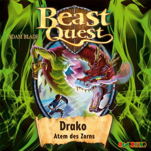 Drako, Atem des Zorns (Beast Quest 23) Titelbild