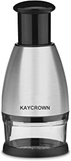 Kaycrown Premium Stainless Steel Chopper And Dicer Chop Veggies Herbs And Nuts With Ease