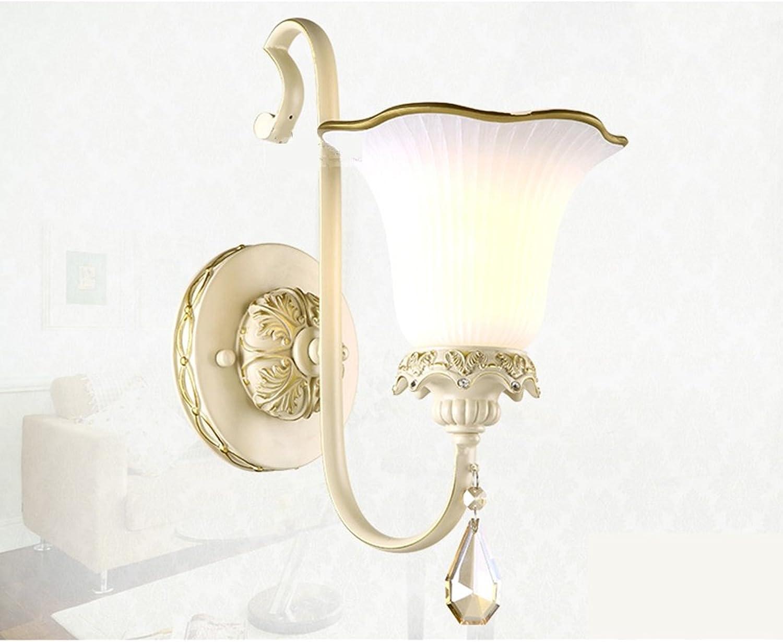 Guo Europische - Style Wandleuchte Nachttischlampe Eingang Aisle Beleuchtung Moderne minimalistische Wohnzimmer Kristall-Lampen