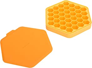 Ice Cubes Tray, 37‑Grids Ice Mold, Multi-Purpose Food‑Grade Polygon for Bakery Home