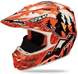 HMK Mouthpeice for Fly Racing F2 Carbon Pro Helmet - Orange 73-4808