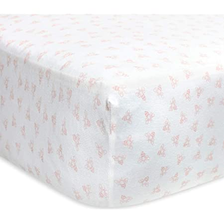 Free UK Shipping WAFFLE SHEETS CribCot Pre-washed Sheets for Babies and Toddlers Deep Blue Cotton