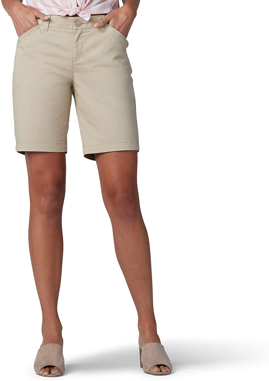 Lee Women's Regular Fit Chino Bermuda Short