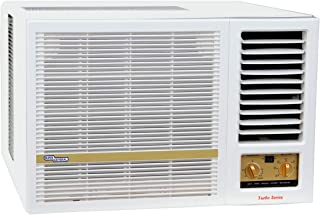 Super General 1.5 Ton Window Air Conditioner SGA19HE/18000 BTU/Auto-Restart/Silent/Rotary T3/White/5 year Compressor Warranty