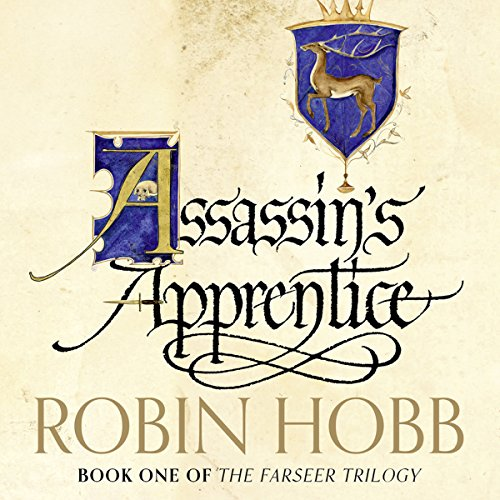 Assassin's Apprentice audiobook cover art