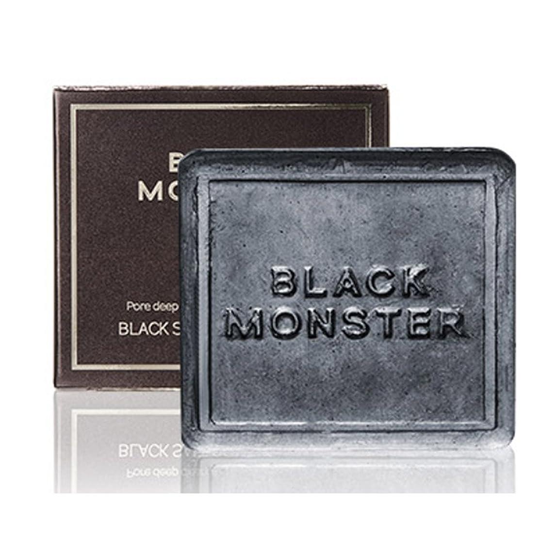 静めるもちろん類人猿[ブレンクTV] blanktv Black Monster ブラックソルトコントロールバー 120g 海外直送品 black salt control bar [並行輸入品]