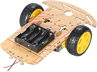 Sponsored Ad – Andoer 2WD 2-Wheel Smart Car Chassis DIY Kit Tracing Car with Speed Encoder 2 Motor 1:48