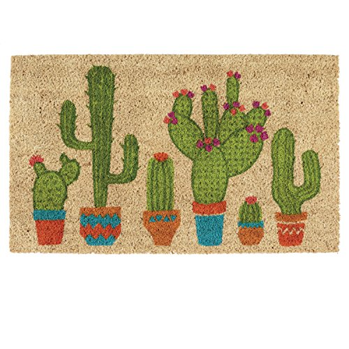 DII Indoor/Outdoor Natural Coir Fiber Spring/Summer Doormat,...