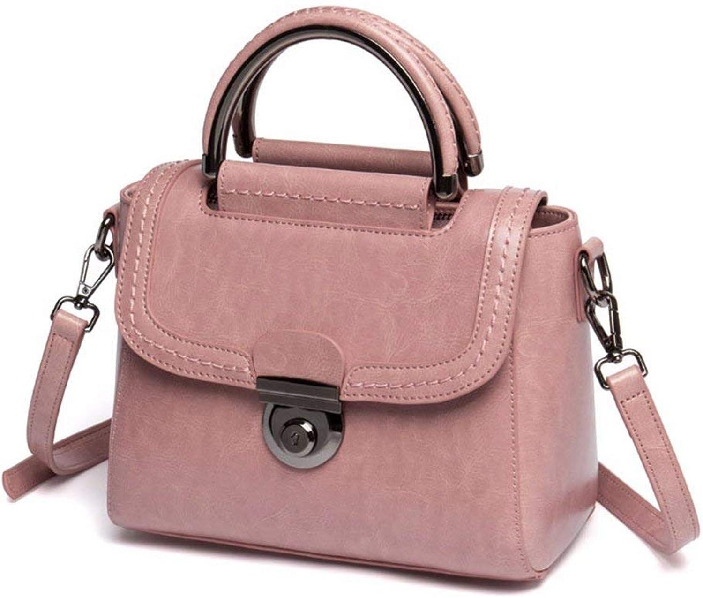 FERZA Home Umhängetasche Damen Handtasche weibliche Tasche handtaschen für Frauen Leder Cross Body Schulter Slouch Bag Handtasche Mit Casual Vintage Damen Leder Schultertasche B07N5Z8X7V