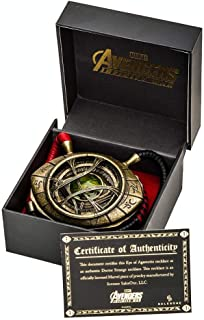 Doctor Strange Eye of Agamotto Prop Replica Necklace - 1/1 Scale - Avengers Infinity War Collectible Accessories And Movie Memorabilia - Unique Superhero Gift for Birthdays, Halloween Costume, Cosplay