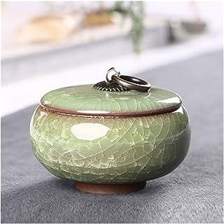 Ensemble de thé en céramique Boîte de Rangement Accessoires pour Ensemble de thé de Voyage Portable Boîte de Rangement pou...