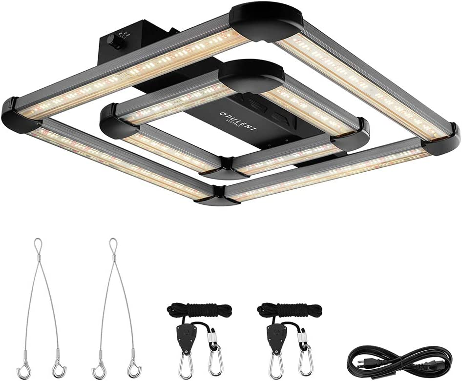 OPULENT SYSTEMS Square Full Spectrum Sale Special Price L Dimmable Light Grow Excellence Plant