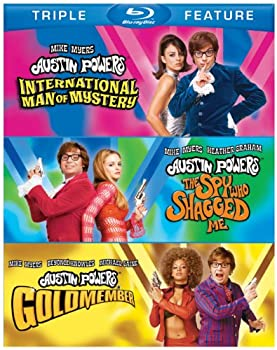 Austin Powers Triple Feature  International Man of Mystery / The Spy Who Shagged Me / Goldmember  [Blu-ray]